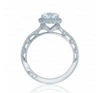 Tacori Reverse Crescent 2618CU Engagement Ring