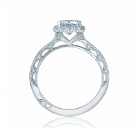 Tacori Reverse Crescent 2618EC Engagement Ring