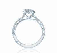 Tacori Reverse Crescent 2618PR Engagement Ring