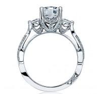 Tacori Ribbon 2637RD Engagement Ring