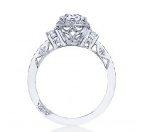 Tacori Dantela 2663OV Engagement Ring