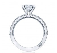 Tacori Clean Crescent 322PR Engagement Ring