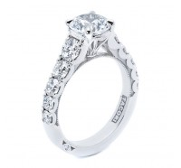 Tacori Clean Crescent 343RD Engagement Ring