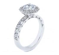 Tacori Blooming Beauties 3825CU Engagement Ring