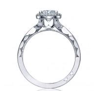 Tacori Sculpted Crescent 52RD Engagement Ring