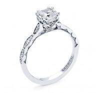 Tacori Sculpted Crescent 572CU Engagement Ring