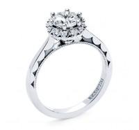 Tacori Sculpted Crescent 592RD Engagement Ring