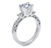 Tacori Classic Crescent HT2259RD Engagement Ring
