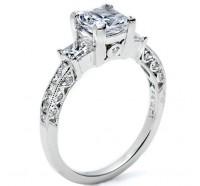 Tacori Classic Crescent HT2264PR Engagement Ring