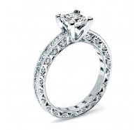 Tacori Classic Crescent HT2430SOL Engagement Ring