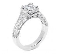 Tacori Reverse Crescent HT2515PR Engagement Ring