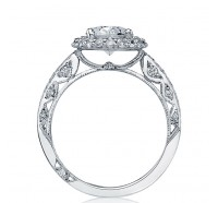 Tacori Blooming Beauties HT2518OV Engagement Ring