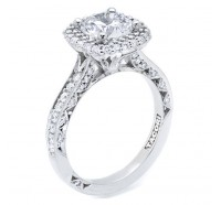 Tacori Blooming Beauties HT2522CU Engagement Ring