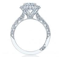 Tacori Blooming Beauties HT2522OV Engagement Ring