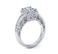 Tacori Reverse Crescent HT2531EC Engagement Ring