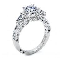 Tacori Classic Crescent HT2533RD Engagement Ring