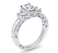 Tacori Classic Crescent HT2535EC Engagement Ring