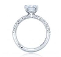 Tacori Petite Crescent HT254525EC Engagement Ring