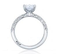 Tacori Petite Crescent HT254525OV Engagement Ring