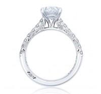 Tacori Petite Crescent HT254625OV Engagement Ring