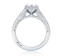 Tacori Petite Crescent HT254715EC Engagement Ring