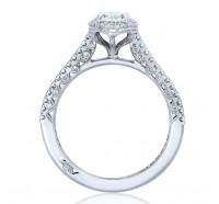Tacori Petite Crescent HT254715OV Engagement Ring