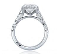 Tacori Petite Crescent HT254725EC Engagement Ring