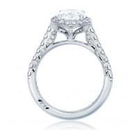 Tacori Petite Crescent HT254725OV Engagement Ring