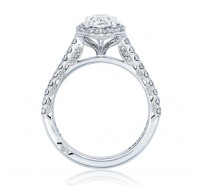 Tacori Petite Crescent HT2547OV Engagement Ring