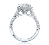 Tacori Petite Crescent HT2555RD8 Engagement Ring