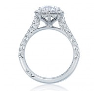 Tacori Petite Crescent HT2556RD Engagement Ring