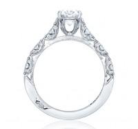 Tacori Petite Crescent HT2558OV Engagement Ring