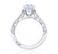 Tacori Petite Crescent HT2558RD Engagement Ring