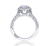 Tacori Petite Crescent HT2560CU Engagement Ring