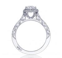 Tacori Petite Crescent HT2560EC Engagement Ring