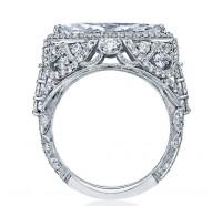 Tacori RoyalT HT2612MQ Engagement Ring
