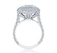 Tacori RoyalT  HT2614EC Engagement Ring