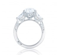 Tacori RoyalT HT2628OV Engagement Ring