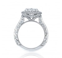Tacori RoyalT HT2650OV Engagement Ring