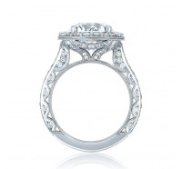Tacori RoyalT HT2650RD Engagement Ring