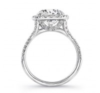 Uneek Silhouette Silhouette-LVS904 Engagement Ring