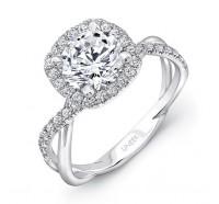 Uneek Infinity Infinity-SM817CU Engagement Ring