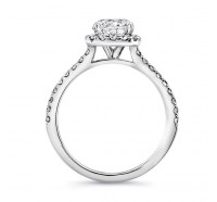 Uneek-SWS178 Engagement Ring