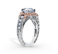 Kirk Kara  K250R8RWR Engagement Ring