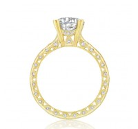 Tacori Gold 2578RDY Engagement Ring