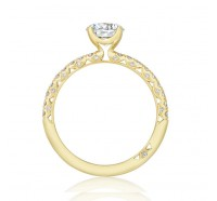 Tacori Gold HT2545RDY Engagement Ring