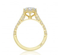 Tacori Gold HT2547RDY Engagement Ring