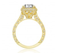 Tacori Gold HT2607RDY Engagement Ring