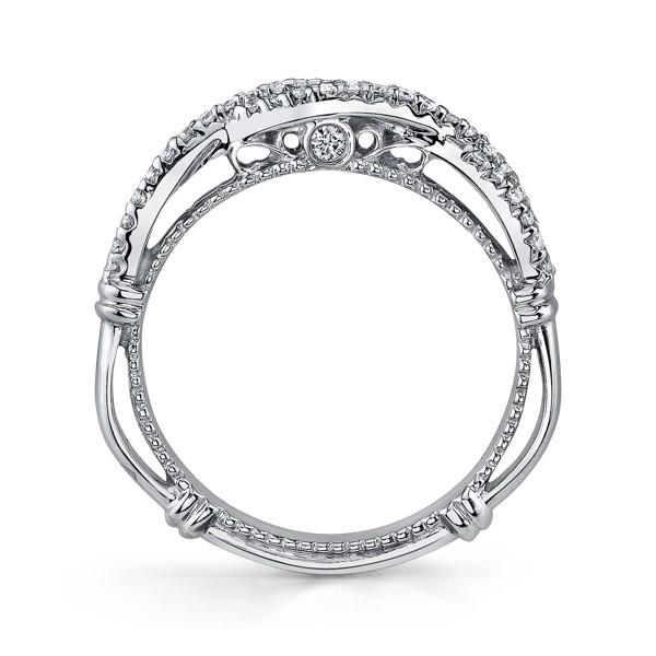 Verragio Wedding Bands.Verragio D 106w Wedding Ring