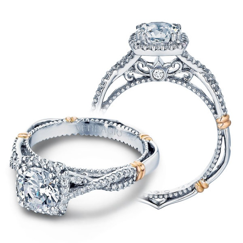 383e0e5bda5 This image shows the setting with a 1.00 carat round brilliant cut center  diamond. The